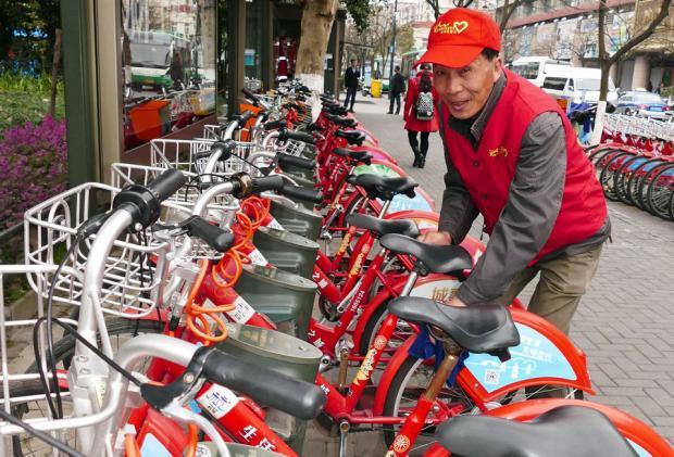 有桩公共自行车:不怕共享单车,好戏还在后面