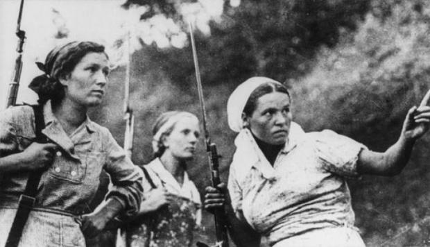 苏联卫国战争期间严禁传播的20张照片