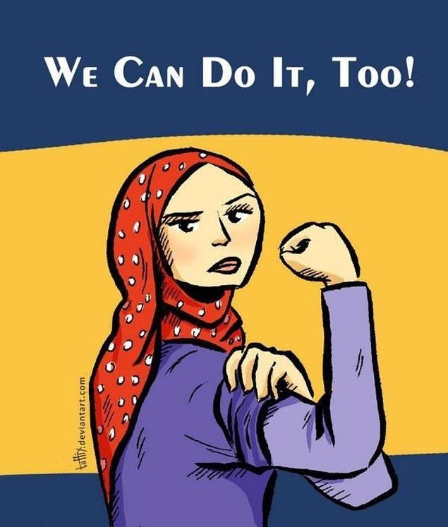 女权、头巾和伊斯兰