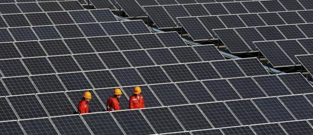 在中国的某个地方,可再生能源独挑大梁已经整整一周了