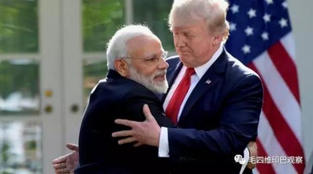 """【南亚参考】""""印度对美投靠,对华好斗"""""""
