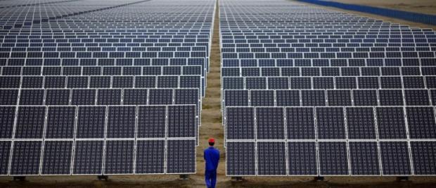 """用""""萌""""发电的熊猫太阳能电站"""