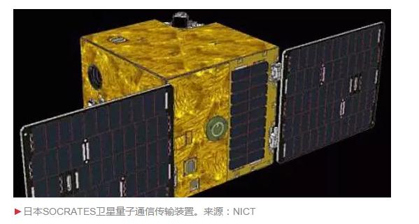 日本的量子通信卫星:不能做量子通讯