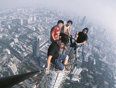 攀爬高楼,违法吗?