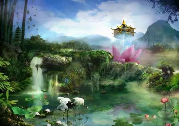参透的感觉就是天堂的一扇大门徐徐开启