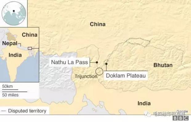 【南亚参考】洞朗对峙:不丹和印度官方是如何表态的?