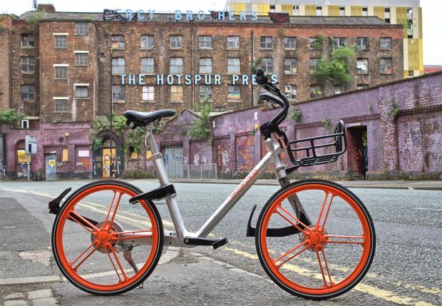 摩拜单车的英国初体验