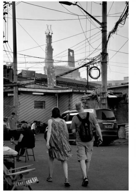 网线,街头