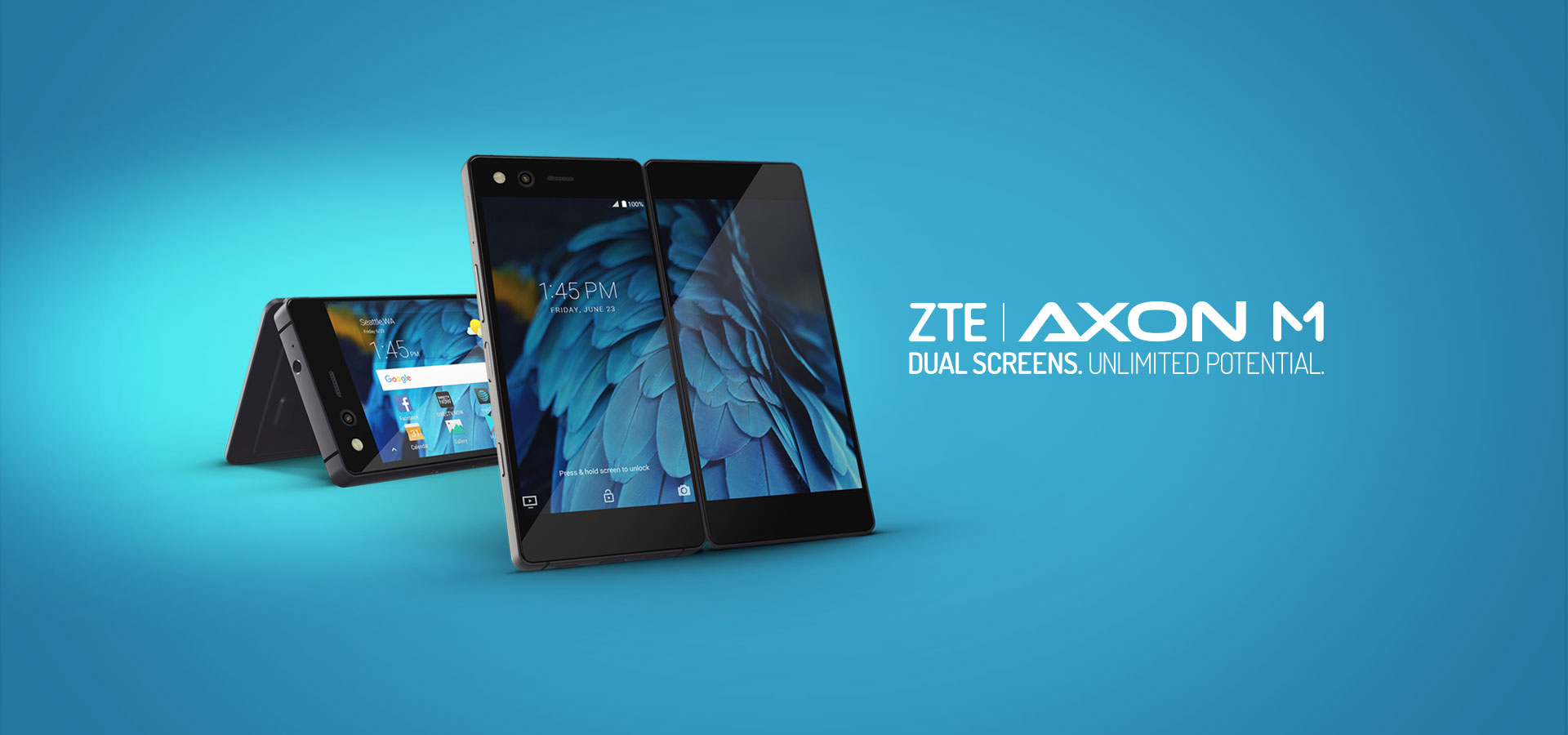 SMARTPHONES: ZTE Sees Double with New Smartphone