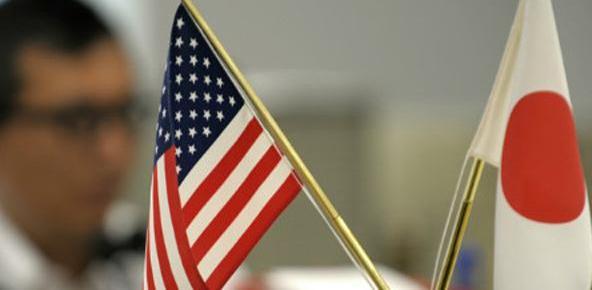 日本美国承诺加强经贸合作