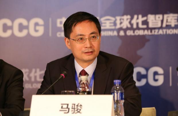 马骏:中国绿色金融需兼顾气候变化和环境污染