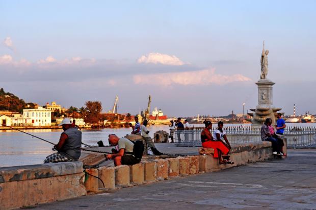 古巴之旅:夕阳残照哈瓦那
