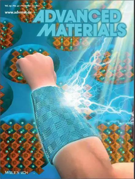 """纳米印刷再创奇迹:""""印""""出柔性可穿戴的钙钛矿太阳能电池"""