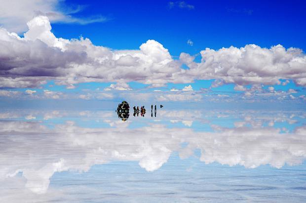 """玻利维亚之旅:绝美""""天空之镜"""""""