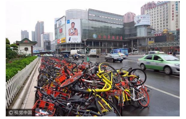 共享单车也难逃互联网魔咒