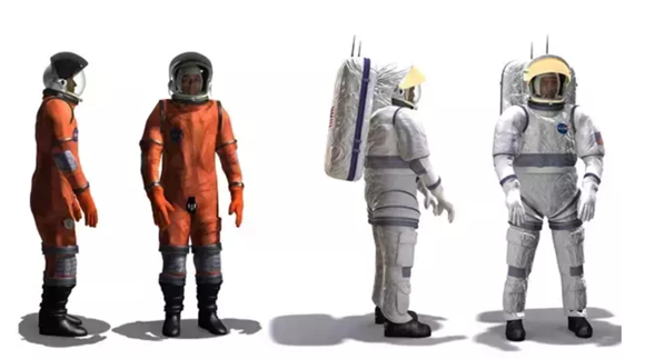 宇航员身穿的橙色太空服和白色太空服有什么区别?
