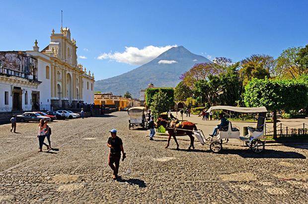 危地马拉之旅:地震之城安提瓜
