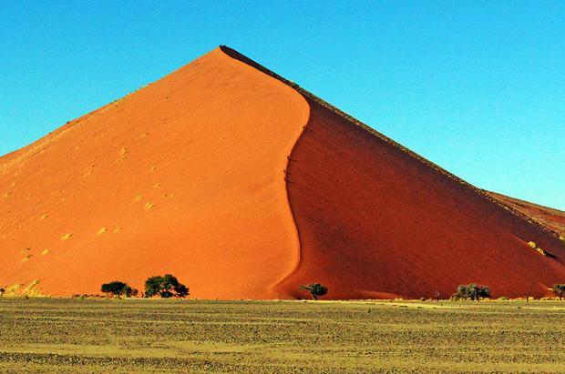 纳米比亚之旅:红沙丘与死亡谷