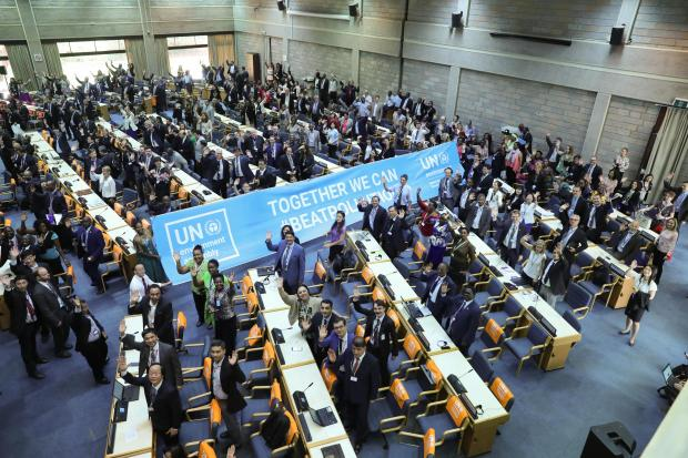 """联合国环境大会达成""""软性""""成果"""