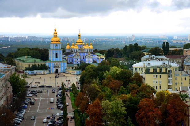乌克兰之旅:风雨前夕访基辅