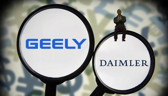 吉利哪来的90亿美元投资戴姆勒?