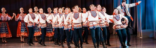 亚历山大罗夫歌舞团的九个瞬间