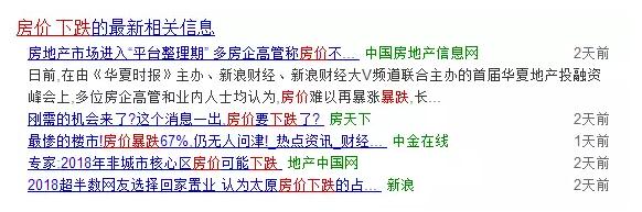 """2018年""""狗年""""房价真出现暴跌的10大标志"""