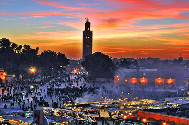 摩洛哥之旅:不夜之城马拉喀什