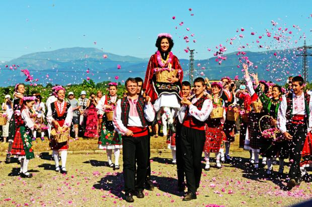 保加利亚之旅:卡赞勒克玫瑰节