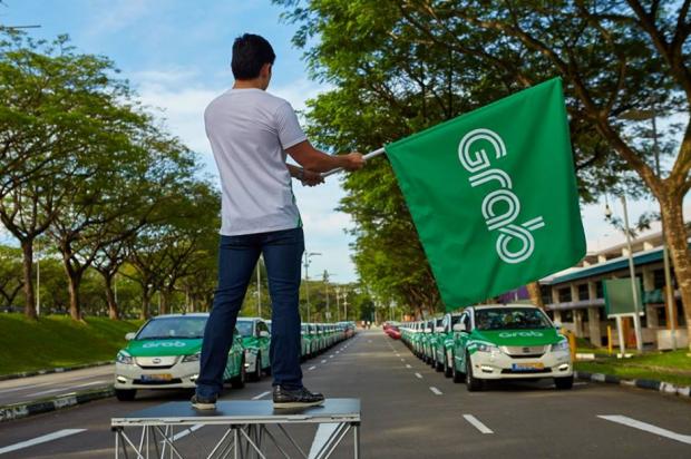 """东南亚""""滴滴""""Grab正式接盘Uber,从此头顶一片绿"""