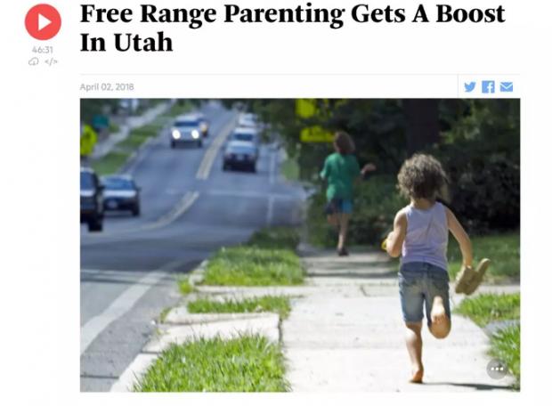 为儿童散养立法叫好