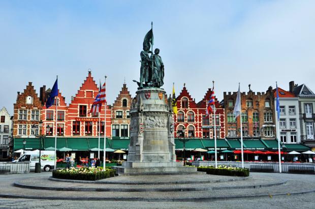 比利时之旅:中世纪小城布鲁日