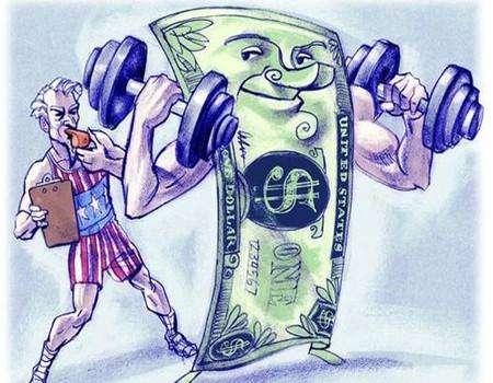强势美元正走在路上
