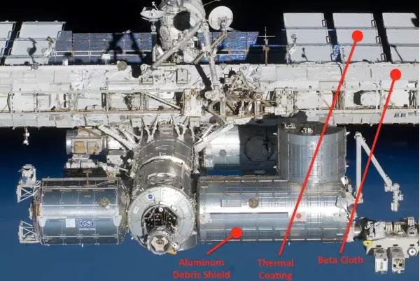 为什么宇宙飞船上的设施大多都是白色或浅灰色?