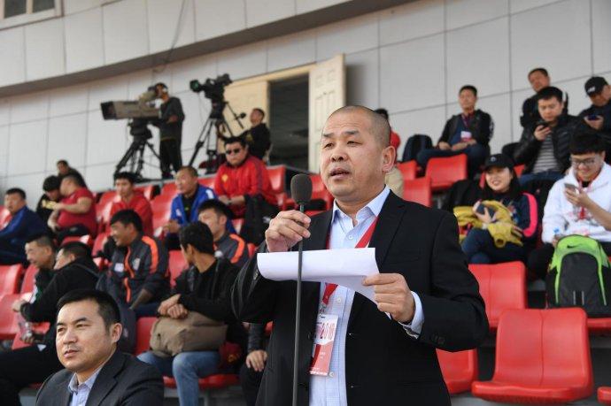 城超联赛主席刘秉润首次受足协接见