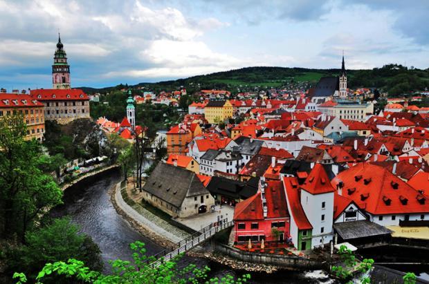 捷克之旅:最美小镇克鲁姆洛夫