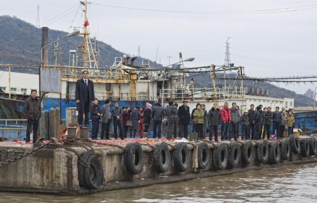 中国远洋渔业特写:海上60天