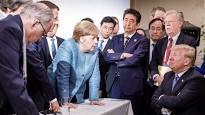英国主流媒体公开报道美国与G7其他成员国的巨大分裂