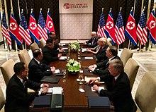金川会晤与世界政治变局