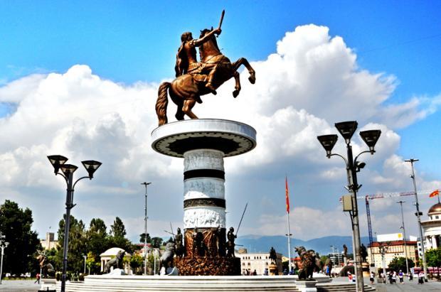 马其顿之旅:斯科普里