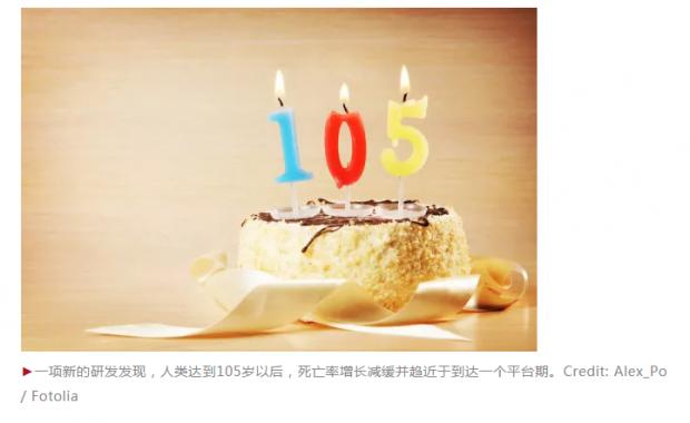 怎么回事:人到105岁后,死亡率反而减缓?