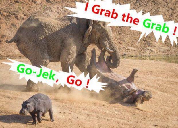 Go-Jek进入东南亚四国,叫车G点还会属于Grab么?