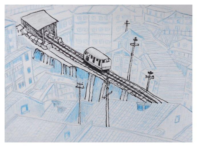 一个小白笔下的重庆(送给山城的十幅插图)