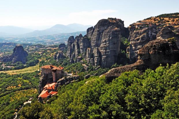 希腊之旅:悬在天空的迈泰奥拉