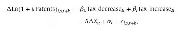 税收对创新的影响:一个因果推断案例