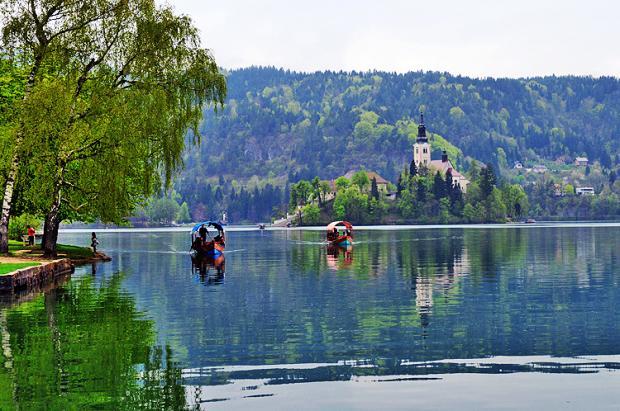 斯洛文尼亚之旅:如梦如幻的布莱德湖