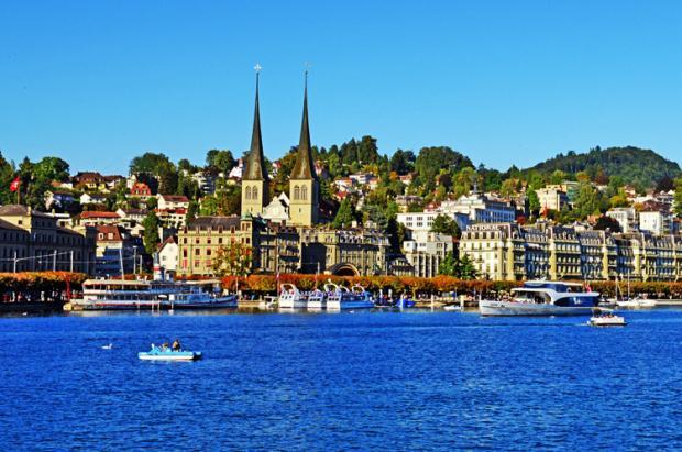 瑞士之旅:卢塞恩的湖光山色