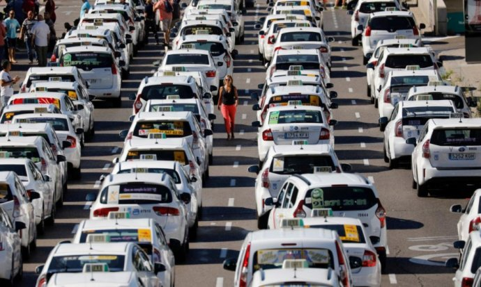 从西班牙、英国出租车与Uber之争,看共享打车未来发展趋势