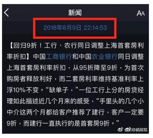 """""""辟谣""""啦:九折房贷利率!乌龙事件与隐秘信号!"""