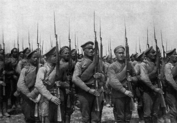 俄国莫辛步枪简史